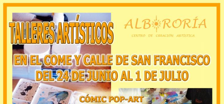 TALLERES ARTÍSTICOS PARA FIESTAS DE LEÓN
