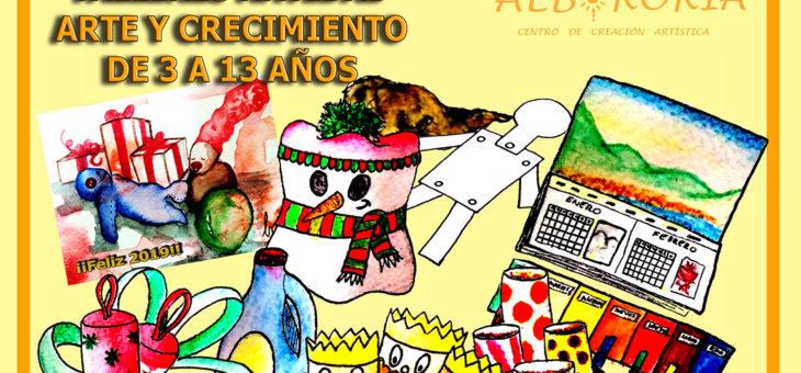 TALLERES ARTÍSTICOS DE NAVIDAD EN LEÓN
